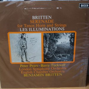 Britten / Peter Pears, Barry Tuckwell - LSO - Les Illuminations