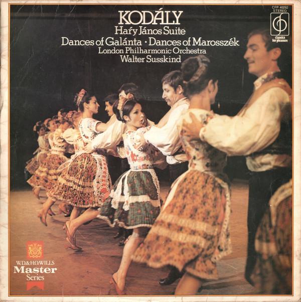 Kodaly - Hary Janos Suite - Dances Of Galanta / Marosszek