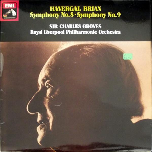 HAVERGAL BRIAN - SYMPHONY NO 8/ NO 9  Quadraphonic