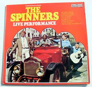 Spinners, The - Live Performance