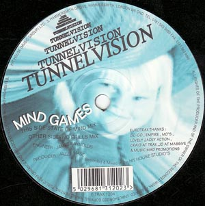 Tunnelvision - Mind Games