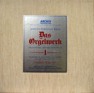 Bach,  Helmut Walcha - Das Orgelwerk 1