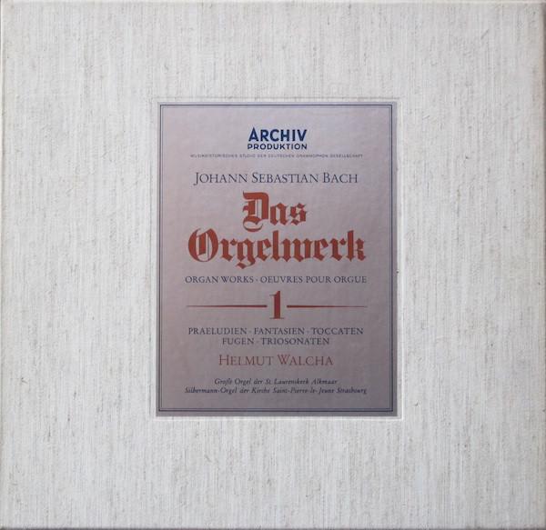 Bach,  Helmut Walcha - Das Orgelwerk 2