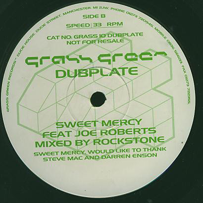 Sweet Mercy - Happy Days (Dubplate)