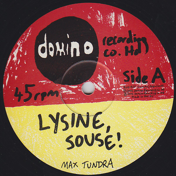 MAX TUNDRA feat. BECKY JACOBS - LYSINE