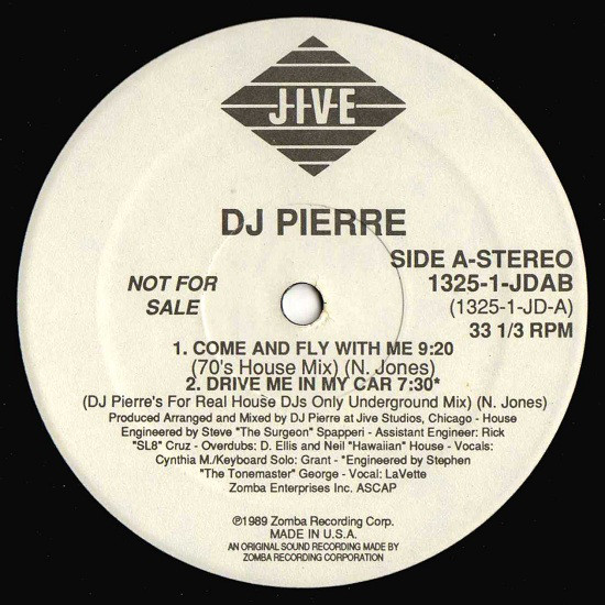 DJ PIERRE - COME AND FLY WITH ME