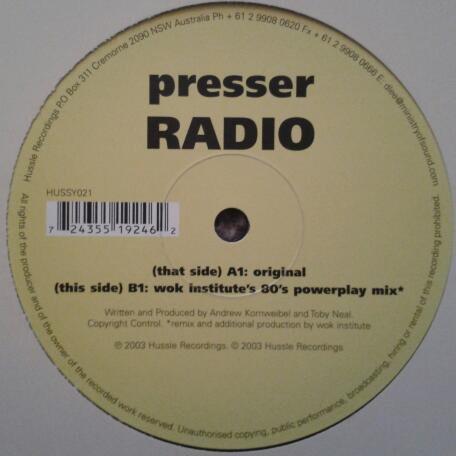 PRESSER - RADIO