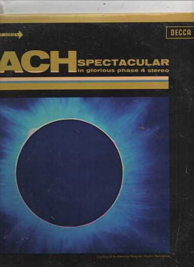 Bach - Kingsway Symp. Orch. Camarata - Spectacular in Glorious Phase 4 Stereo