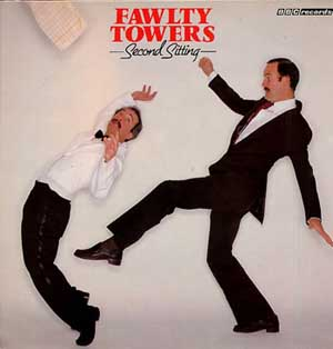 John Cleese and Connie Booth - Fawlty Towers - Second Sitting