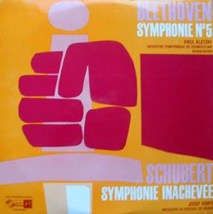 Beethoven / Schubert - Symphonie N? 5, Symphonie Inachev