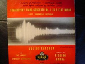 Tchaikovsky, Liszt - Julius Katchen - LSO - Piano Concerto No. 1 /Hungarian Fantasia