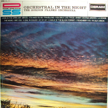 Gordon Franks Orchestra, The - Orchestral In The Night