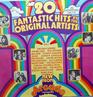 Various - 20 Fantastic Hits By The Original Artists