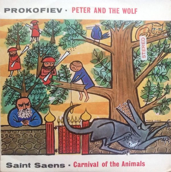 Prokoviev - Saint-Saens - Phil Symp. London - Peter and the wolf - Carnival Animals