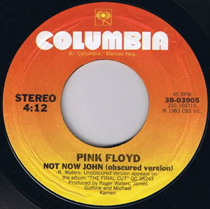 Pink Floyd - Not Now John