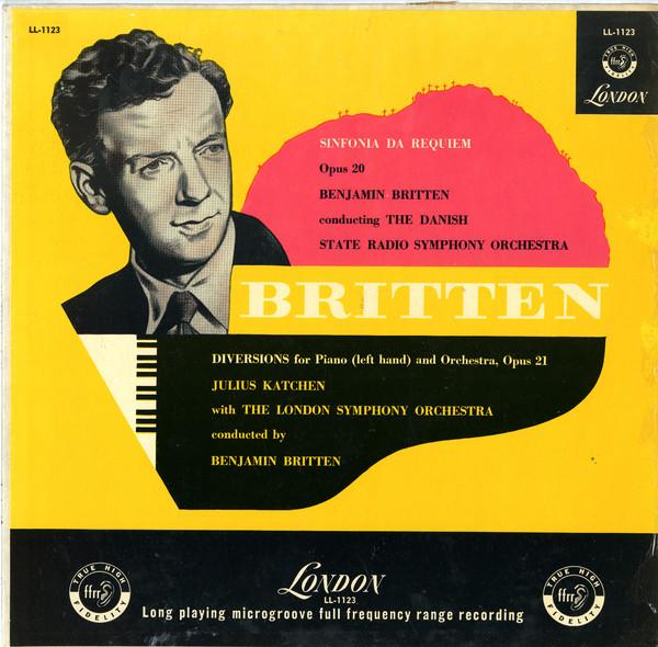 Britten / Danish Symp. Orch. - Sinfonia Da Requiem op20/Diversions for Piano Op21