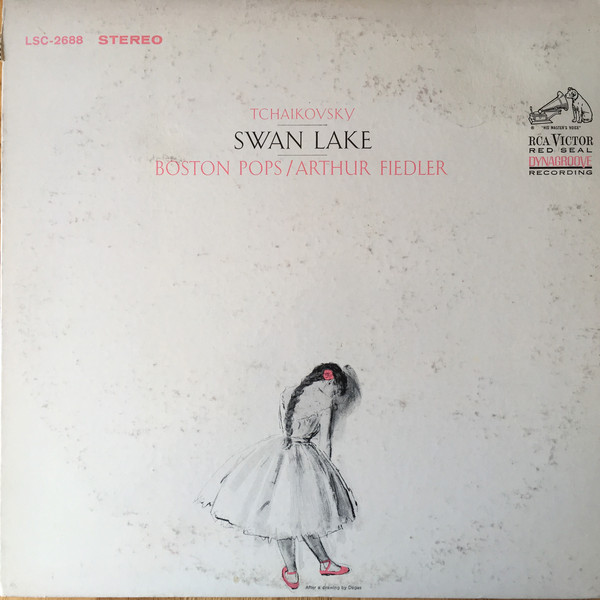 TCHAIKOVSKY - BOSTON POPS / ARTHUR FIEDLER -  SWAN LAKE
