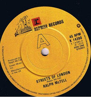 Ralph McTell ? - Streets Of London