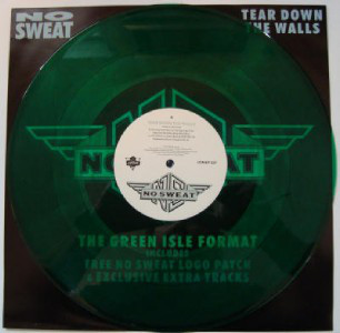 No Sweat - Tear Down The Walls (Green Vinyl)