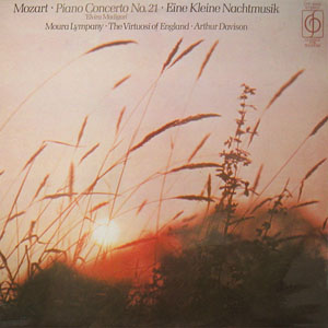 MOZART- MOURA LYMPANY ARTHUR DAVISON - Piano Concerto No. 21 ''Elvira Madigan'' - LP