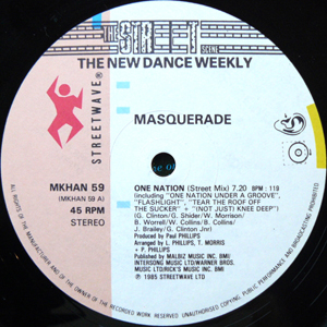 Masquerade - One Nation