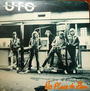 UFO - No Place To Run LP