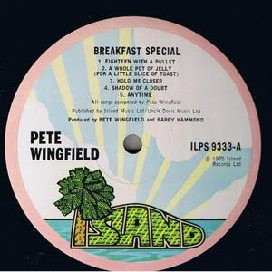Pete Wingfield - Breakfast Special