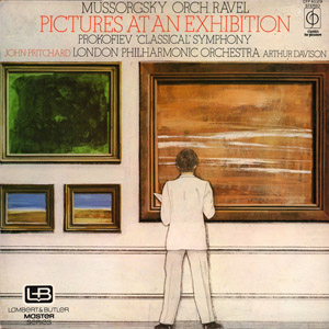 Mussorgsky  Ravel, John Pritchard Prokofiev LPO - Pictures At An Exhibition