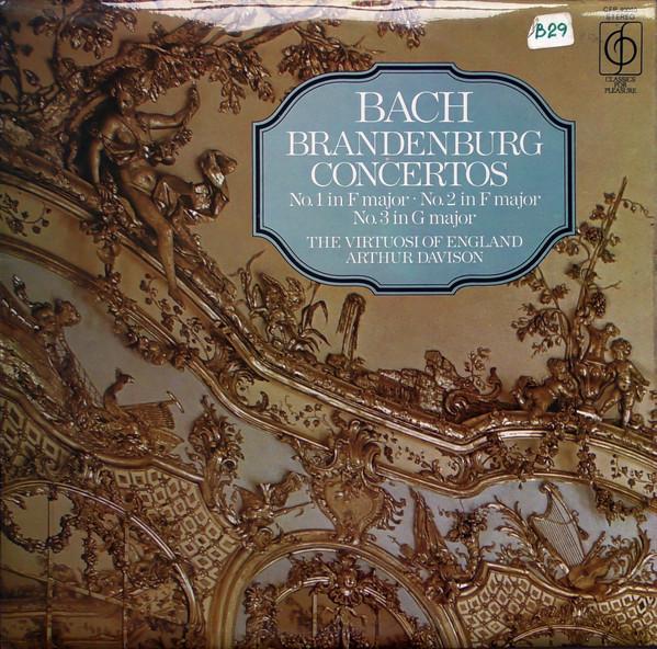 Bach -  Arthur Davison - BRANDENBURG CONCERTOS 1-3