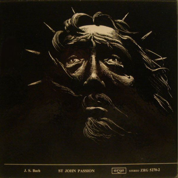 J.S. BACH - ST JOHN PASSION -BOX SET