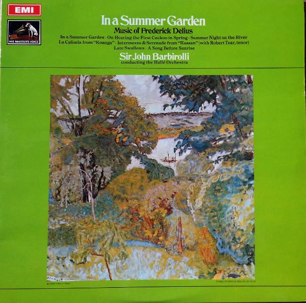 Frederick Delius,  BARBIROLLI,SIR JOHN - IN A SUMMER GARDEN