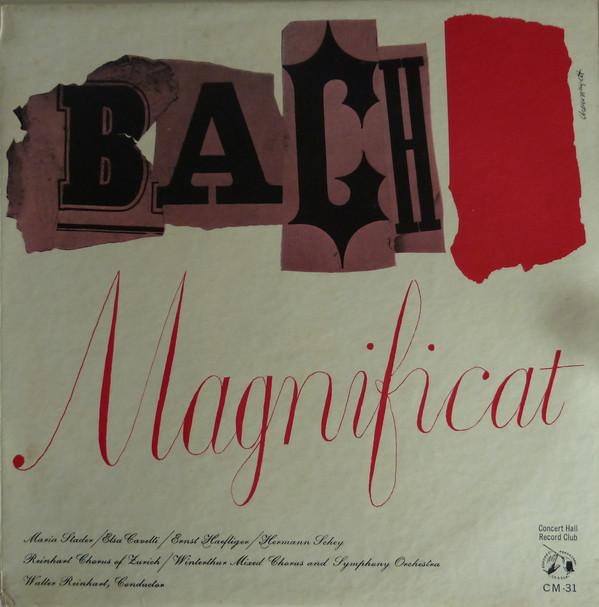 Maria Stader -  Bach Magnificat In D Major