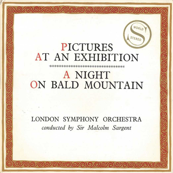 Moussorgsky - Malcolm Sargent LSO - Picture at an Exhibition - Bald Mountain