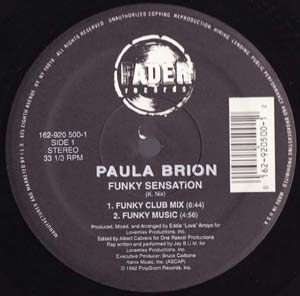Paula Brion - Funky Sensation