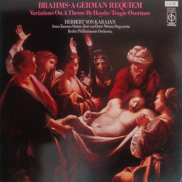 Brahms - Berlin Phil Orch. - Von Karajan - A German Requiem - Tragic Overture