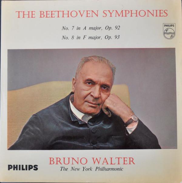 Beethoven - Bruno Walter - New York Phil. - Symp. No. 7 A Major Op. 92 No. 8 F Major Op. 93