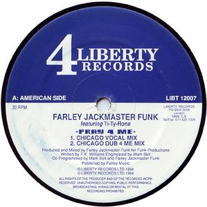FARLEY JACKMASTER FUNK - PRAY 4 ME