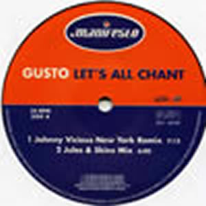 GUSTO - Let's All Chant Vinyl