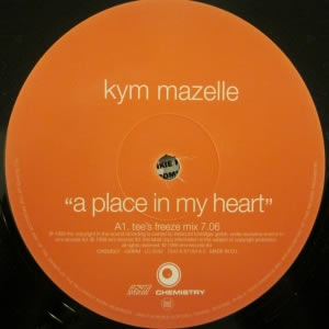 KYM MAZELLE - A Place In My Heart
