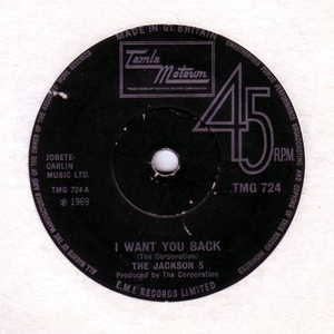 Jackson 5, The - I Want You Back
