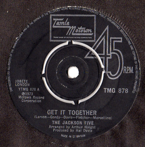 Jackson 5, The - Get It Together / Touch
