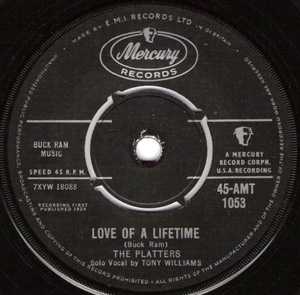 Platters, The - Love Of A Lifetime
