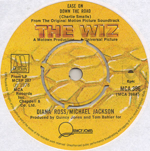 Diana Ross & Michael Jackson / Wiz, The - Ease On Down The Road / Poppy Girls