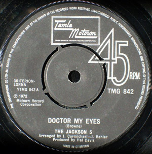 Jackson 5, The - Doctor My Eyes
