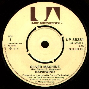Hawkwind - Silver Machine / Seven By Seven