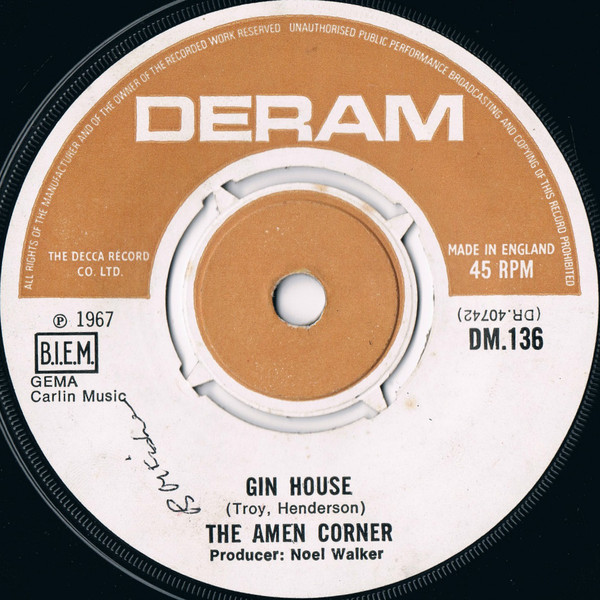 Amen Corner - Gin House