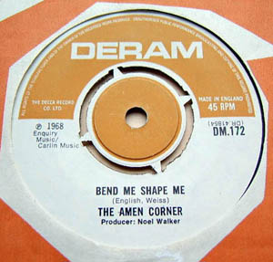 Amen Corner, The - Bend Me Shape Me