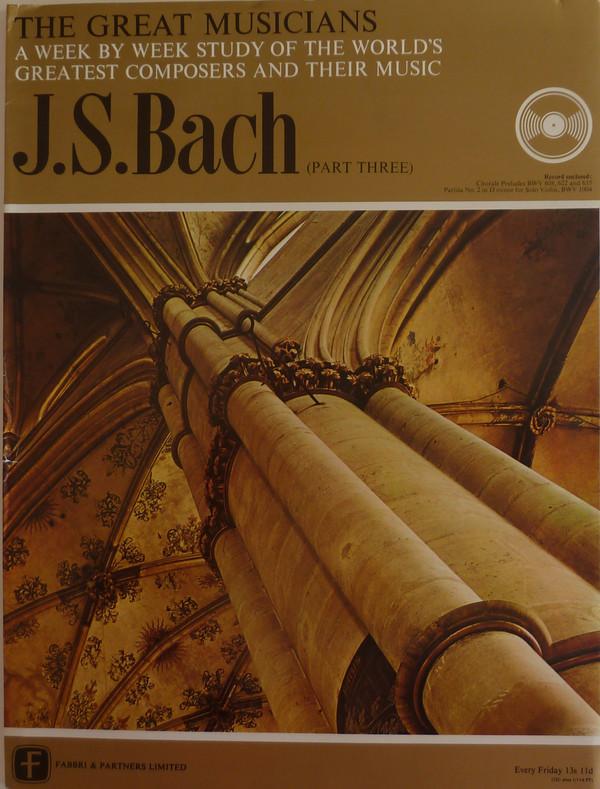 Bach - Walter Kraft - - Chorale Prelude - Partita No.2