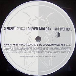 OLIVER MOLDAN - NOT OVER REAL
