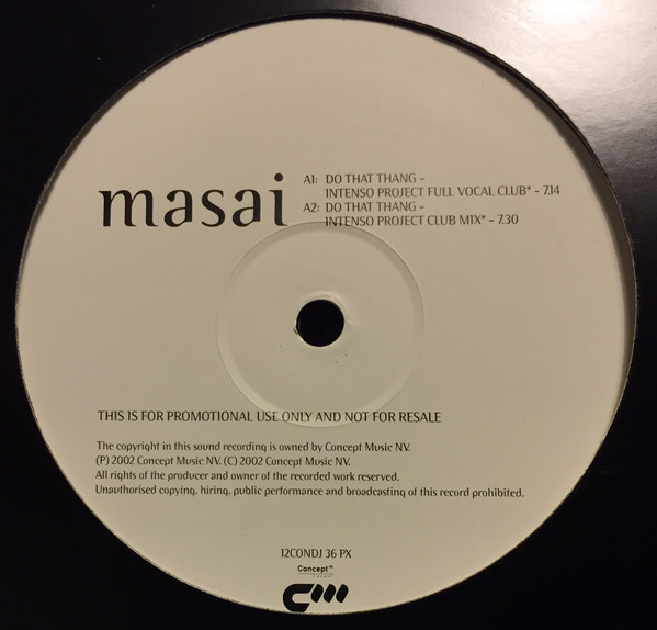 MASAI - DO THAT THANG (PROMO)